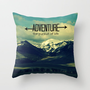 Adventure Throw Pillow by RDelean