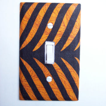 African Safari Single Toggle Switch Plate, wall decor
