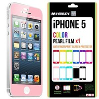SQ1 [Mercury] Matte Finish Color Screen Protector for Apple iPhone [Retail Package]