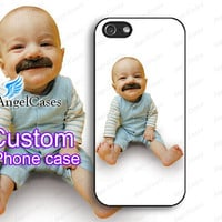 Custom iphone 4 case custom iphone 5 case baby iphone case  cute iphone case designer iphone 4S case print custom case NO.CUSTOM01