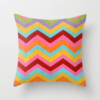 fiesta Throw Pillow by her art