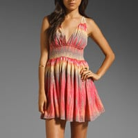 Free People Indian Summer Lurex Dress in Orange Combo from REVOLVEclothing.com
