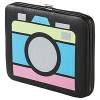 Xhilaration® 80'S Camera Wallet - Black