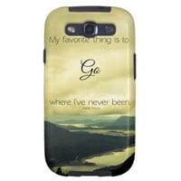 Where I've Never Been Samsung Galaxy S3 Vibe Case from Zazzle.com