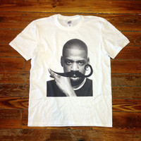 Jay Z Mustache Shirt - JayZ Tee Shirt - 030