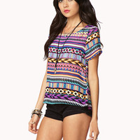 Bold Geo Print Top | FOREVER 21 - 2025101271