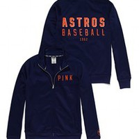 Houston Astros Track Jacket - PINK - Victoria's Secret