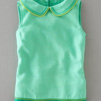 Stitch Detail Top (Spearmint)