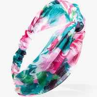 Knotted Watercolor Floral Headwrap | FOREVER21 - 1026262410
