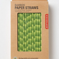 Bamboo Paper Straws