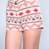 DJPremium.com - Women - Shop by Brand - DJP OUTLET - Shorts - Hayley Anita Jaquard Short