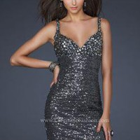 La Femme 17105 Dress - NewYorkDress.com