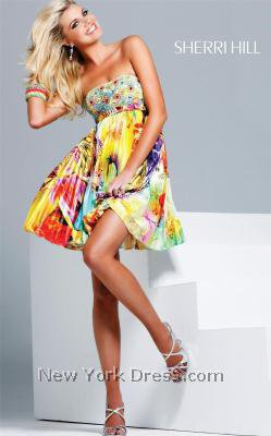 Sherri Hill 9230 Dress - NewYorkDress.com