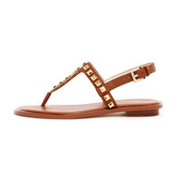 MICHAEL Michael Kors  Alexi Studded Flat Sandal