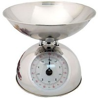 Starfrit Analog Kitchen Scale w/ Stainless Steel Bowl  QVC.com