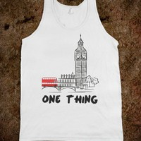 One thing tank - Harry Potter, One Direction, and more - Skreened T-shirts, Organic Shirts, Hoodies, Kids Tees, Baby One-Pieces and Tote Bags