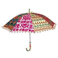 Vintage Pink Decorative Parasol