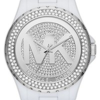 Michael Kors 'Madison' Pavé Logo Watch, 42mm | Nordstrom
