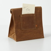 Marlowe Lunch Bag by Peg & Awl Brown One Size House & Home