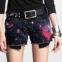 The fantasy color printing and dyeing short casual pants shorts_Shorts pant_Pant_Mili fashion Trade Co.Ltd