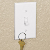 Magnetic Switch Plate, Key Holder Switch Plate | Solutions