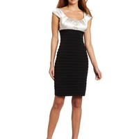London Times Women's Shutter Sheath Dress