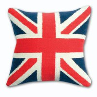 Jonathan Adler British Flag Pillow in All Pillows And Throws