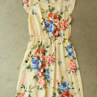 Floral All Over Dress [3828] - $36.00 : Vintage Inspired Clothing &amp; Affordable Fall Frocks, deloom | Modern. Vintage. Crafted.