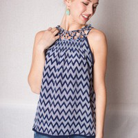 Chevron Tank  - Tops