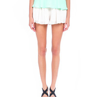 Pleated Ruffle Shorts - 2020AVE