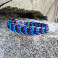 Men&#x27;s Hemp Bracelet Fishbone Knot Macrame