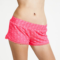 Bongo- -Junior's Crocheted Shorts-Clothing-Juniors-Shorts