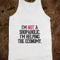 I'm not a shopaholic - Bows over Bros - Skreened T-shirts, Organic Shirts, Hoodies, Kids Tees, Baby One-Pieces and Tote Bags