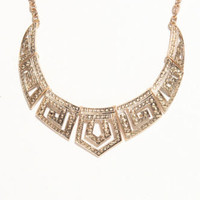 With Love From CA Deco Short Collar Necklace at PacSun.com