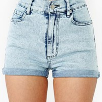 Second Skin Denim Shorts