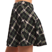 Hearts & Bows Green Martinsville Tartan Skirt