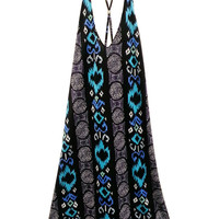 High-LowTribal Print Dress