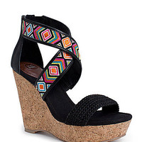 Mason Cork Wedge Sandals | Lord and Taylor