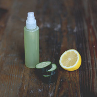 Homemade Refreshing Cucumber Aloe Mist for Face and Body - Free People Blog