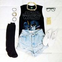 Star Wars Poster Muscle Tee