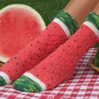 Watermelon Slice Sock Kit