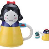 Japanese Gift Market - Sun Art - &amp;quot;Snow White&amp;quot; Tea For One