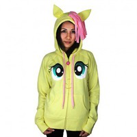 Fluttershy Face Hoodie