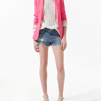 SINGLE BUTTON BLAZER - Blazers - Woman - ZARA United States