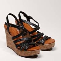 AEO Braided Wedge Sandal | American Eagle Outfitters