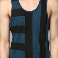 BDG Bar-Stripe Triblend Tank Top