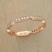 DIAMOND PAVE CARTOUCHE BAND - Bridal Shop - Jewelry | Robert Redford's Sundance Catalog