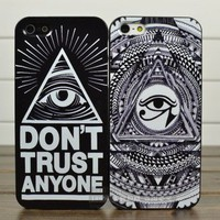 Eye Totem Hard Cover Case For Iphone 4/4s/5
