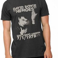 David Bowie Heroes Slim-Fit T-Shirt - 927023
