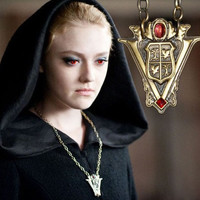 Twilight Character Jewelry Cosplay Volturi Necklace New Moon Gift